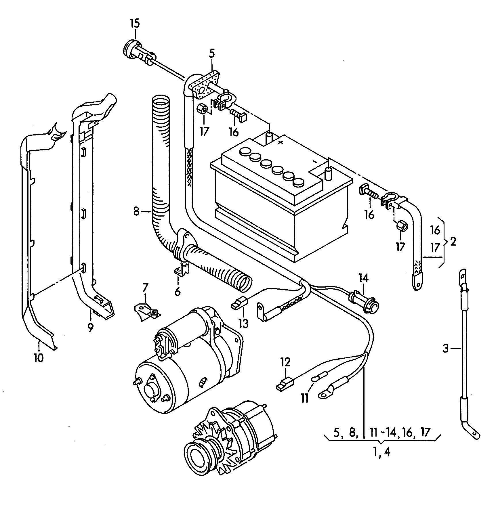 Audi 80 Avant RS2 quattro (1994 - 1996) / VAG Etka