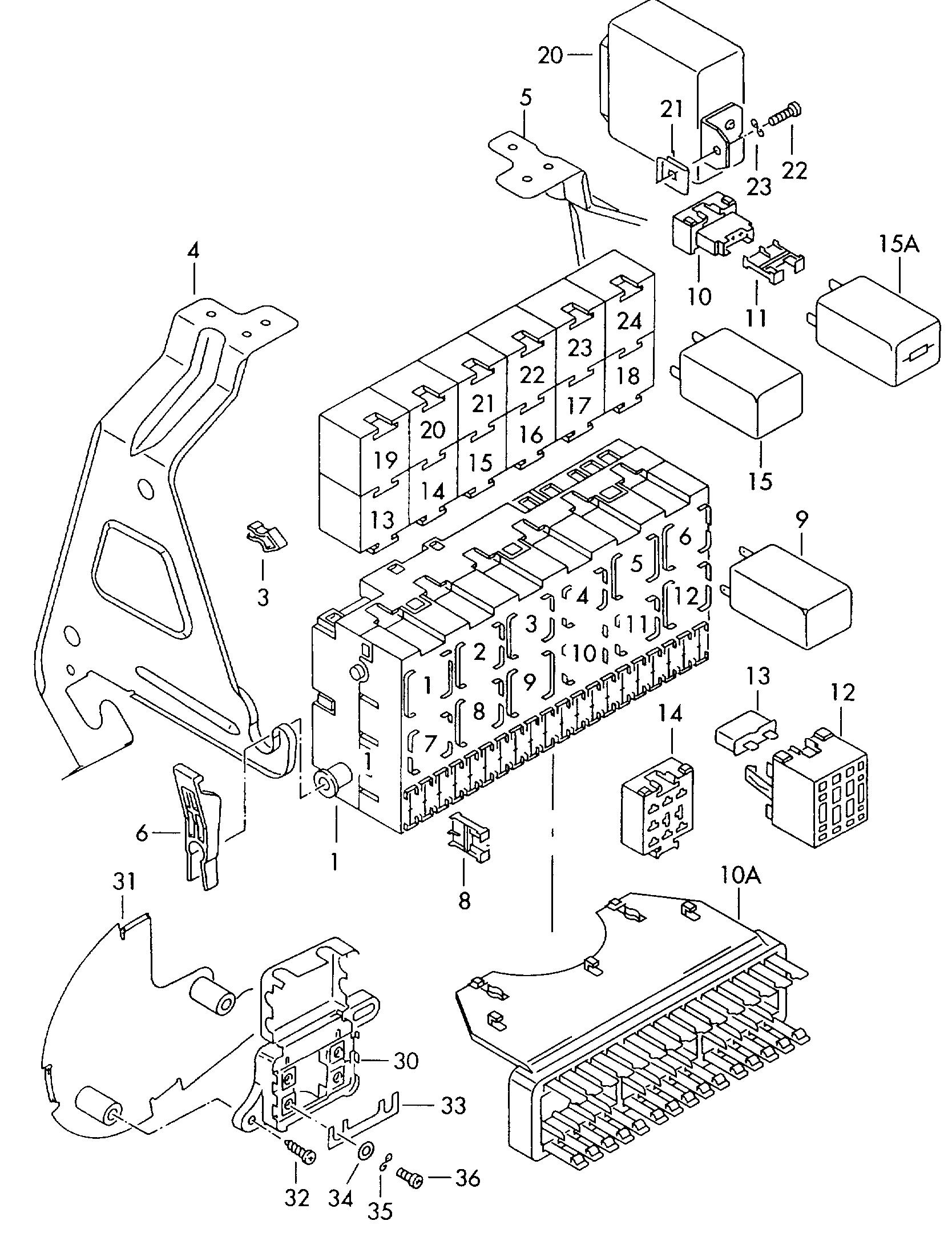 Volkswagen EuroVan (1995 - 1995) / VAG Etka
