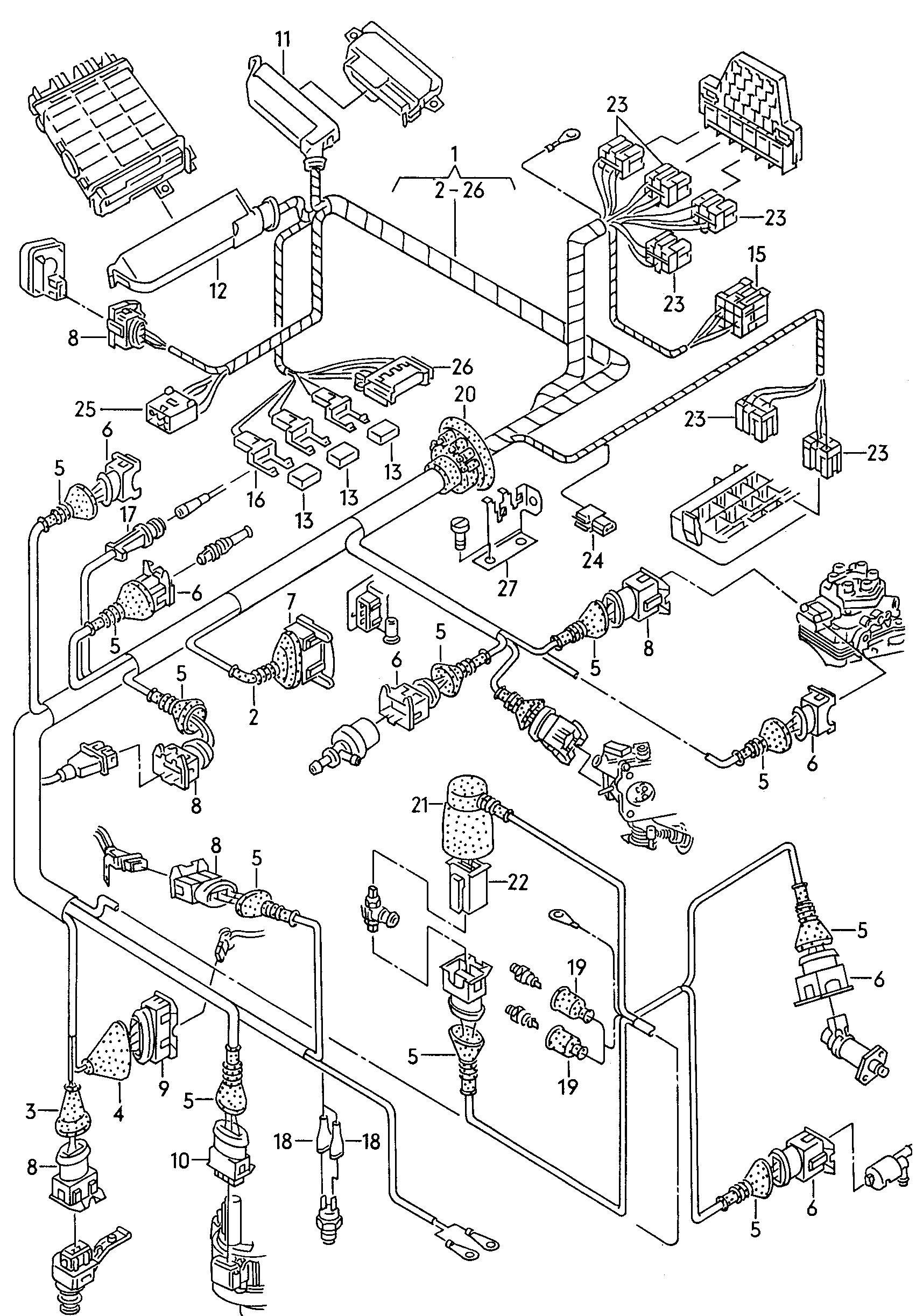 audi 100/avant quattro (1993 - 1994) / vag etka