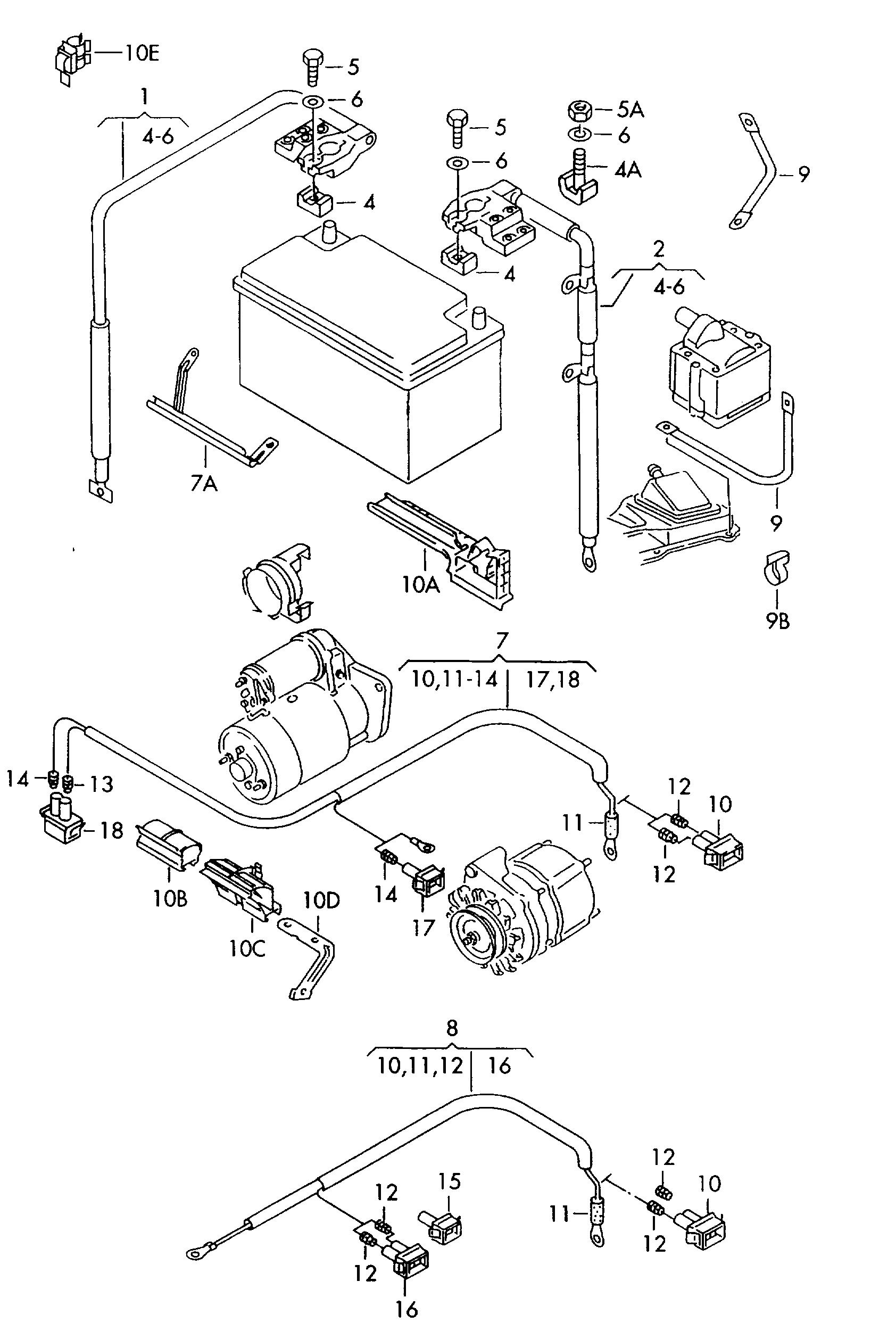 volkswagen vento (1995 - 1995) / vag etka
