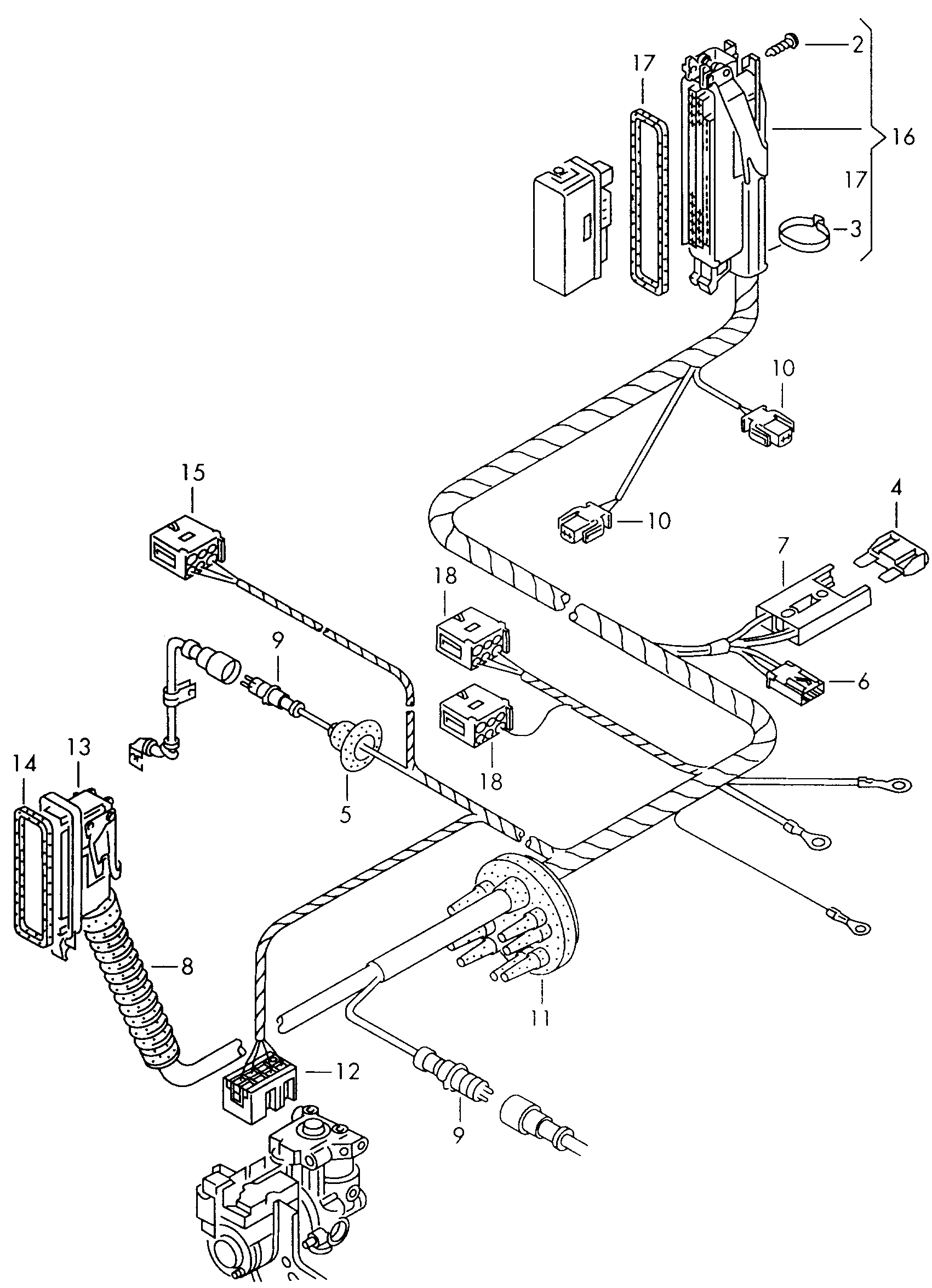 Wiring Diagram Audi A4 1997