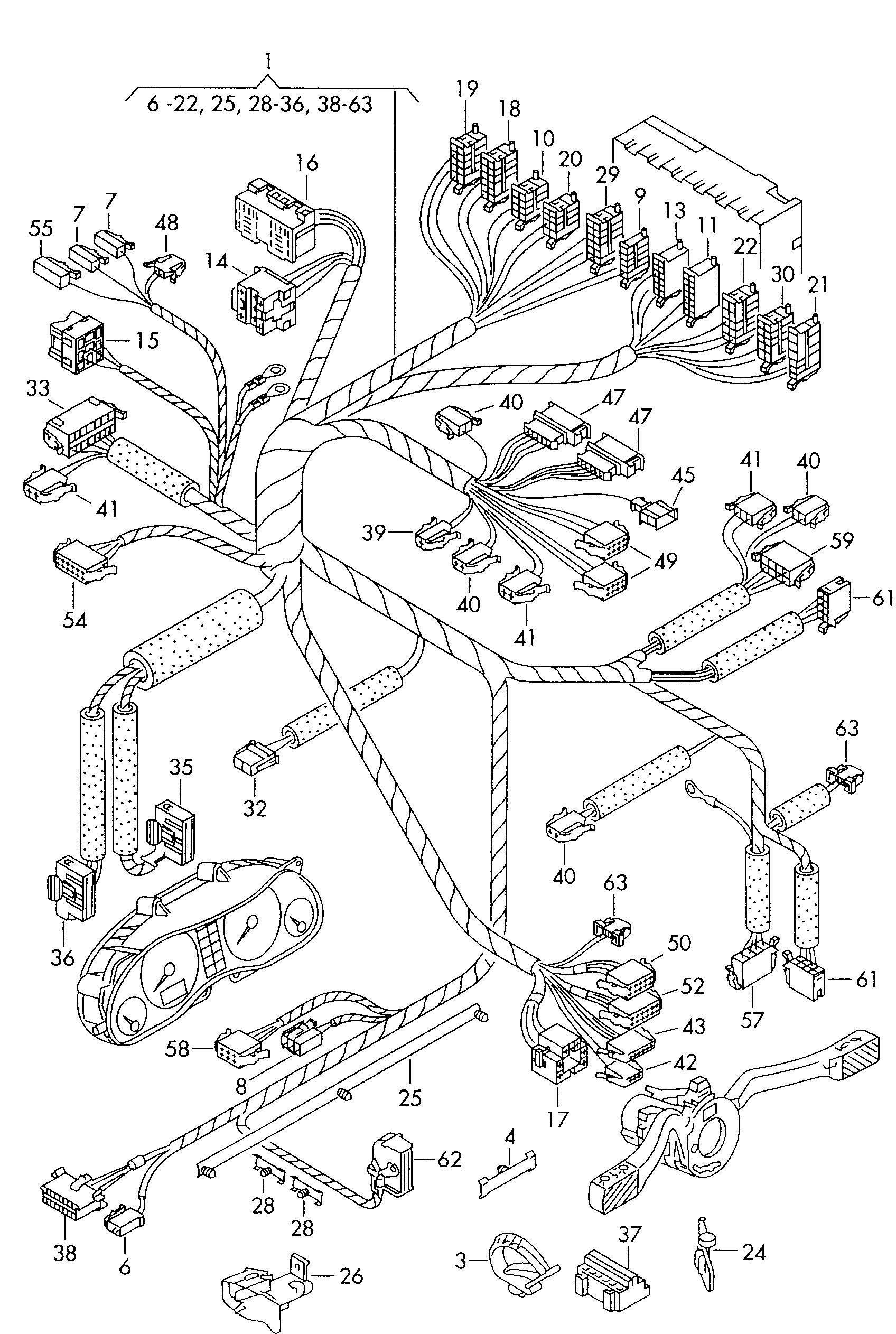 volkswagen sharan (1996 - 2000) / vag etka