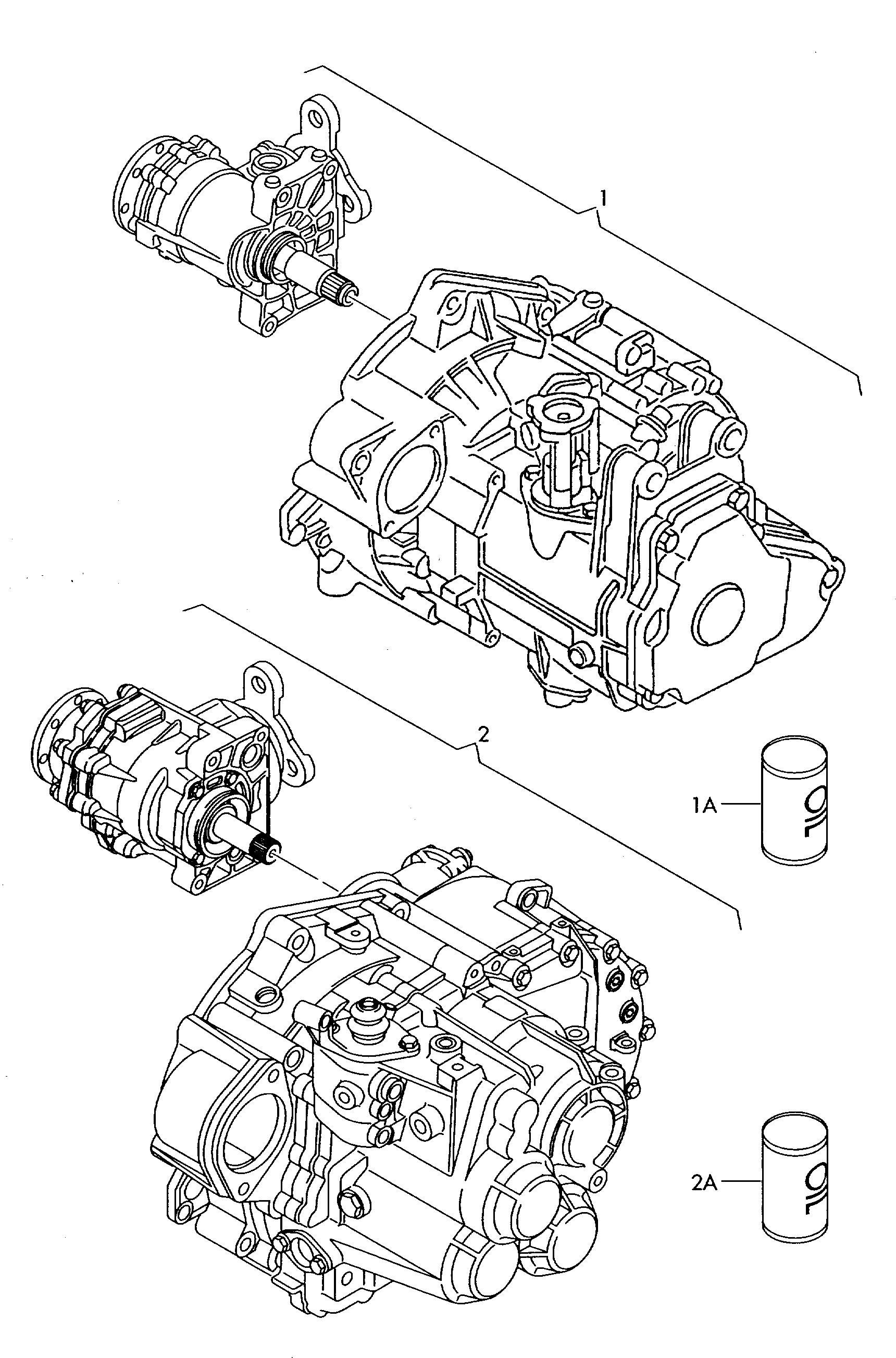 Volkswagen Golf/Golf R32 (2008 - 2009) - for four-wheel