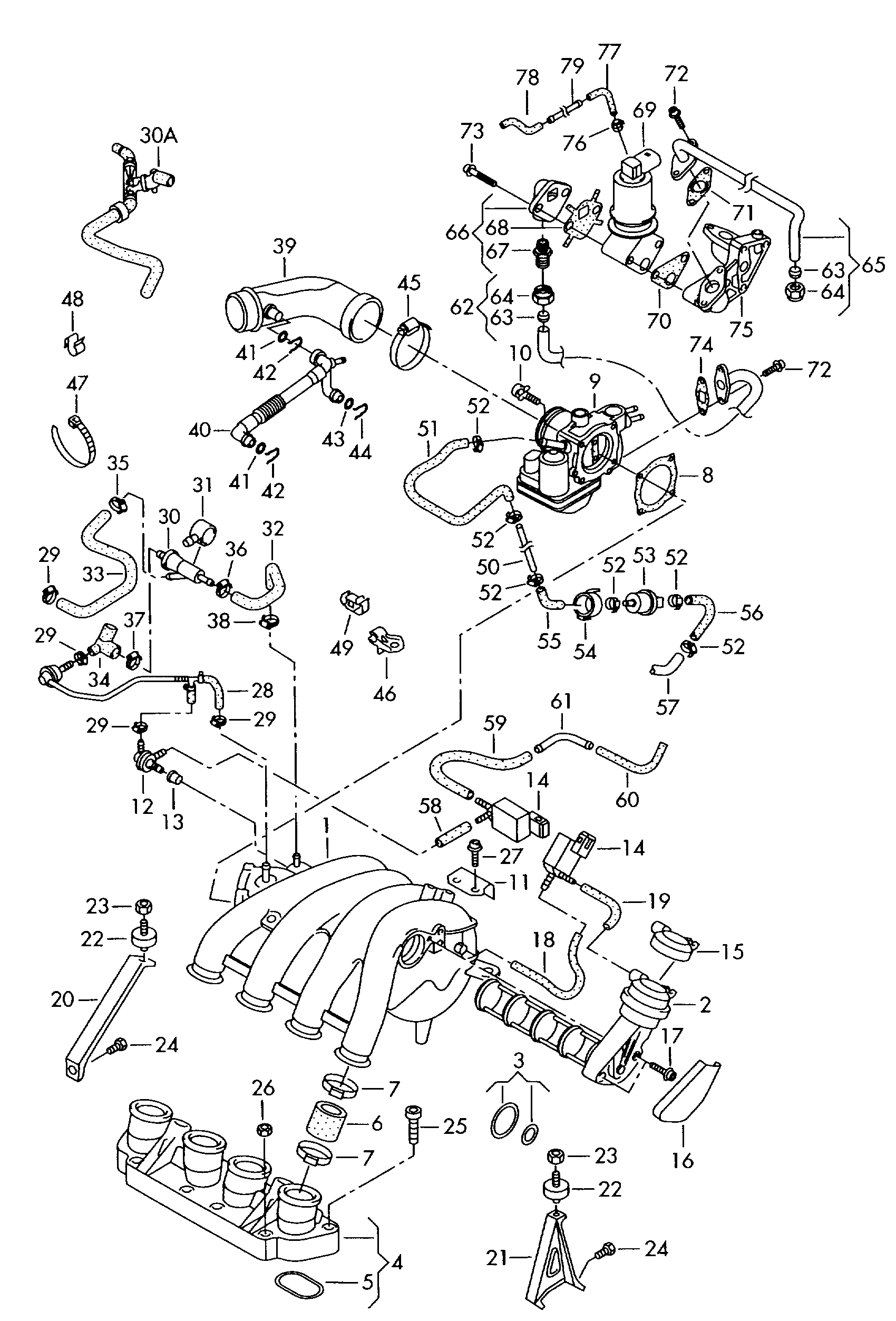 volkswagen passat  variant  2001 - 2002