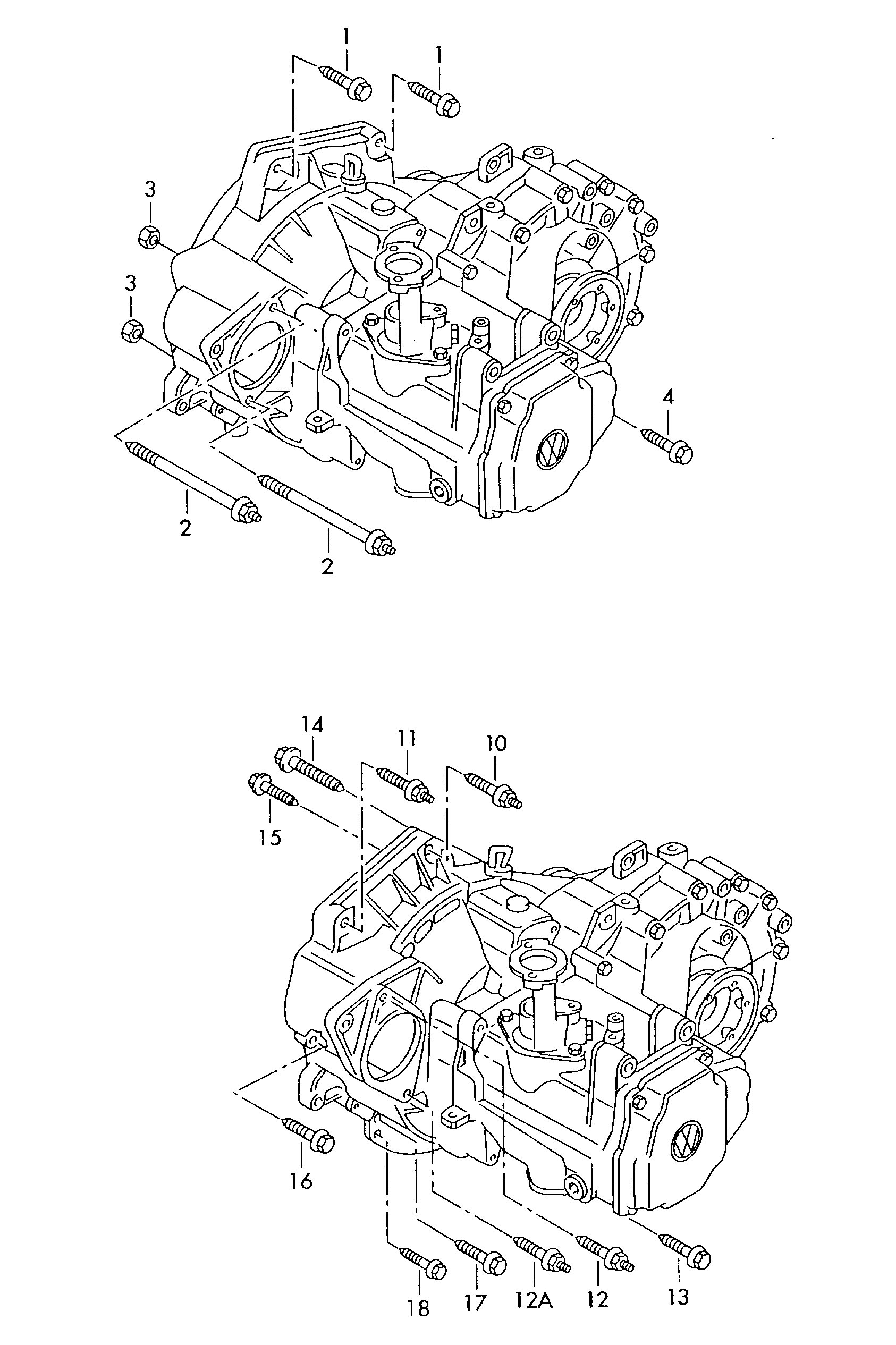 2002 Vw Jetta Parts Diagram