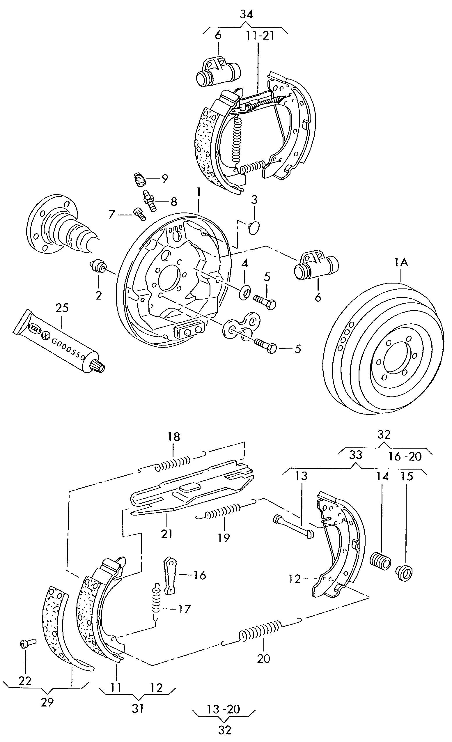 skoda brakes diagram best wiring library 1964 Mercury Monterey skoda fabia 2011 2015 vag etka