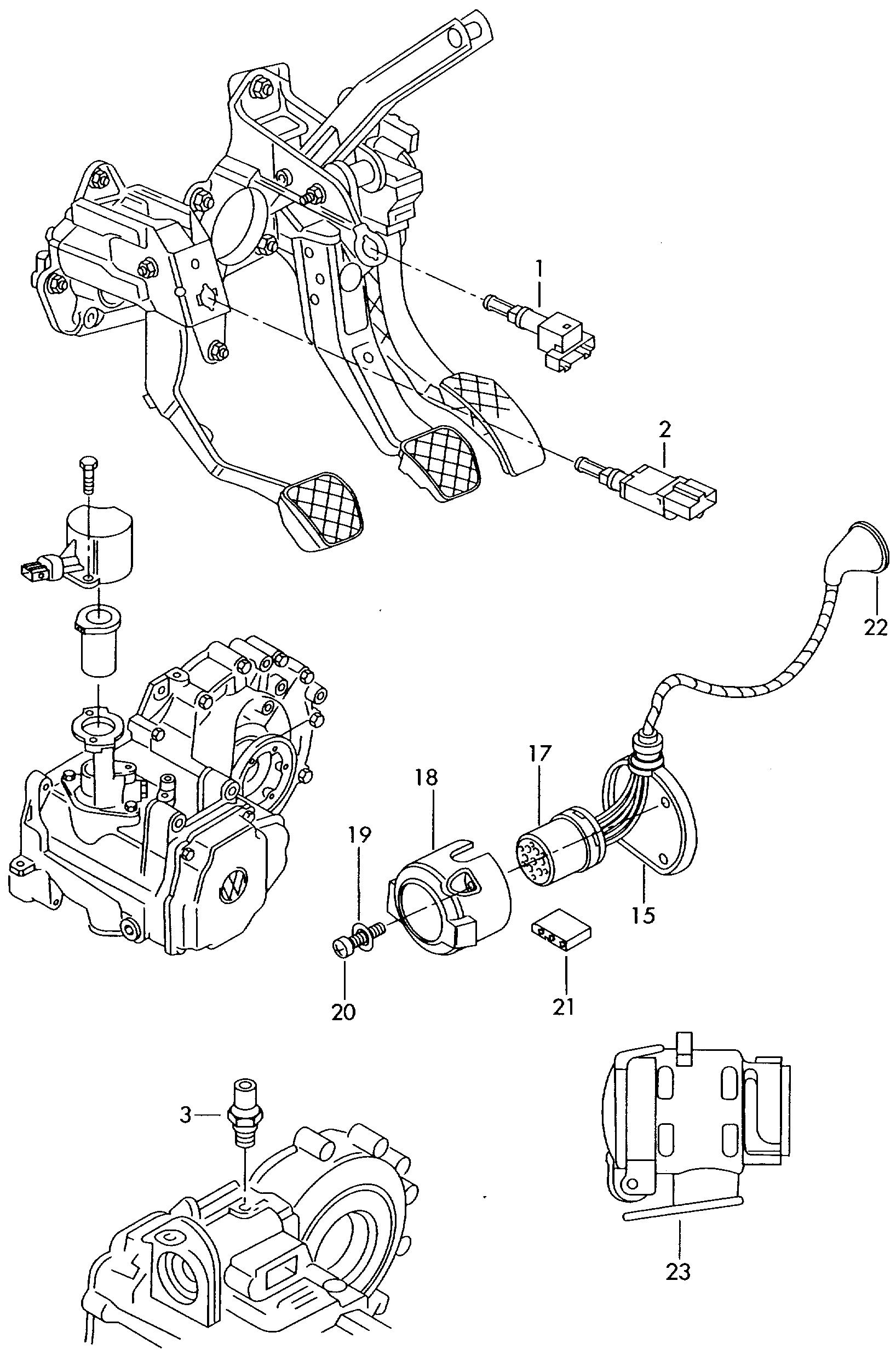 skoda fabia 2000 2004 socket cruise control system for Nissan Cruise Control Wiring Diagram skoda fabia 2000 2004 vag etka