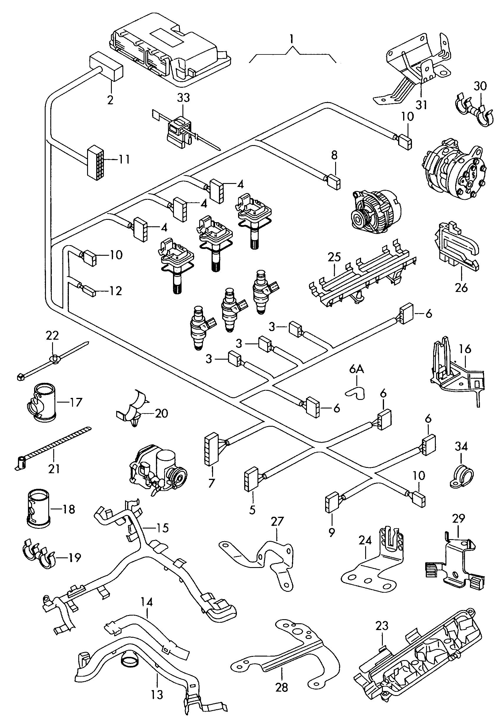 skoda fabia (2009 - 2014) / vag etka