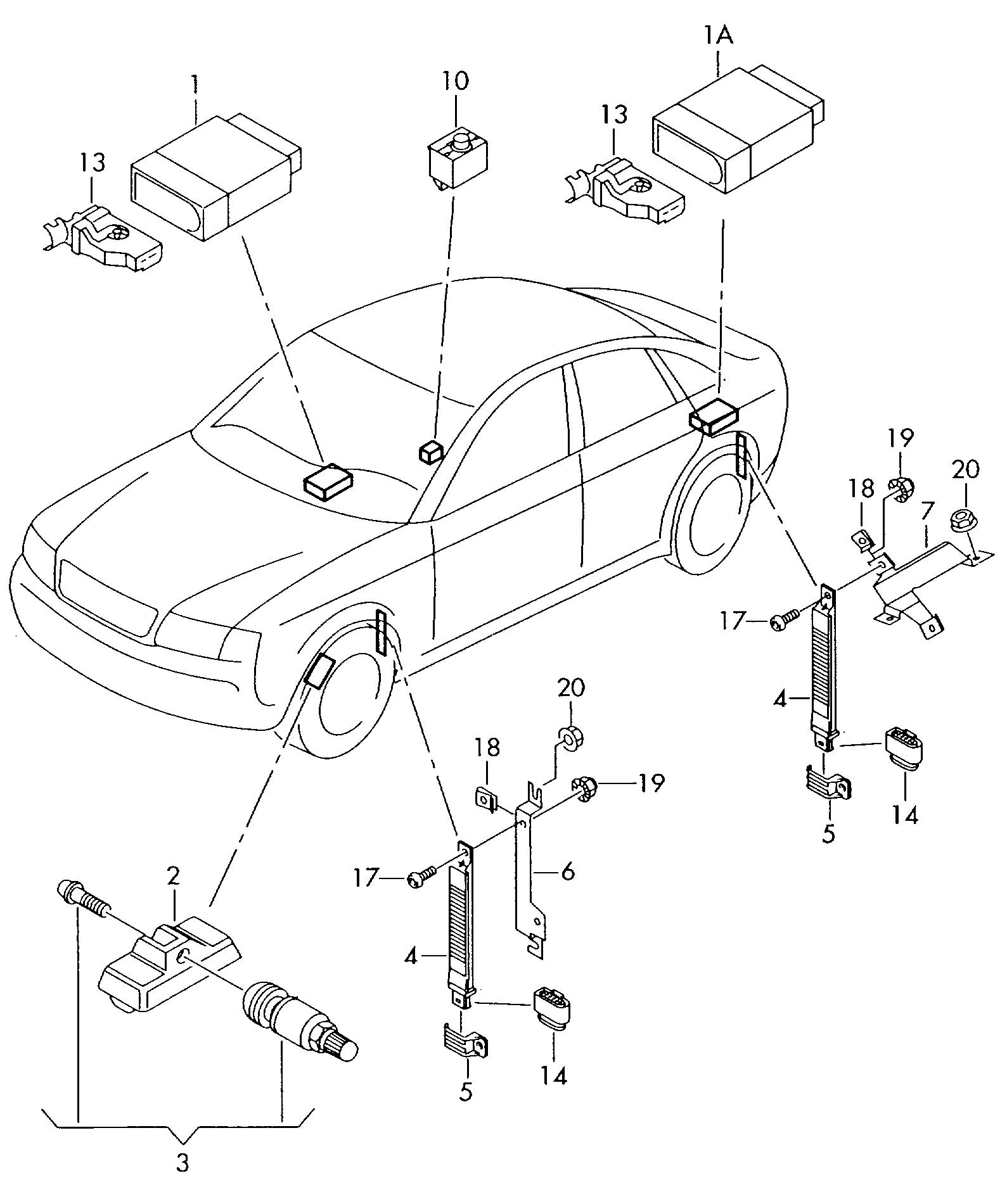 audi a6 allroad qu 2000 2005 tyre pressure control system Future Cars Audi A6 audi a6 allroad qu 2000 2005 vag etka