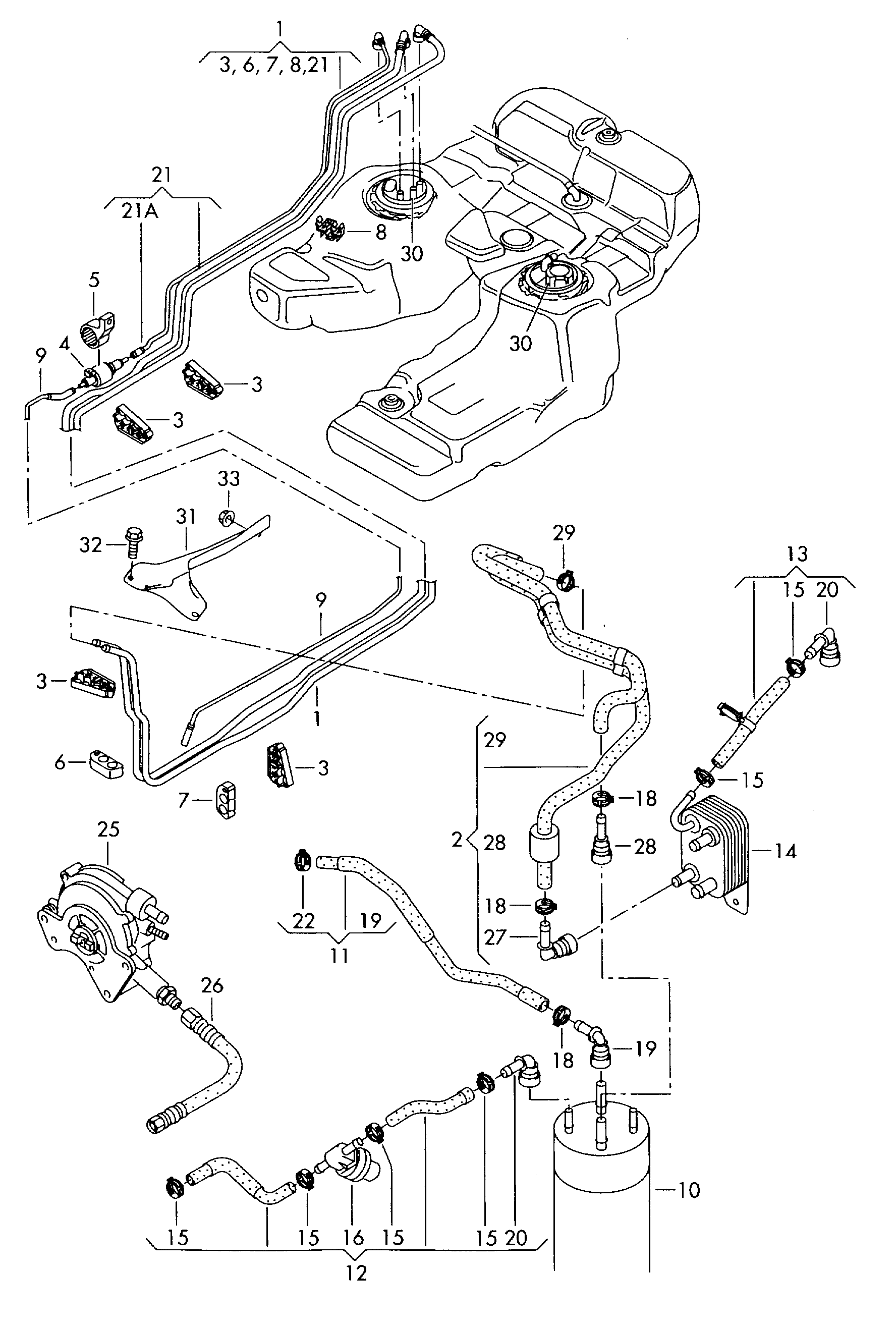 volkswagen touareg  2003 - 2005