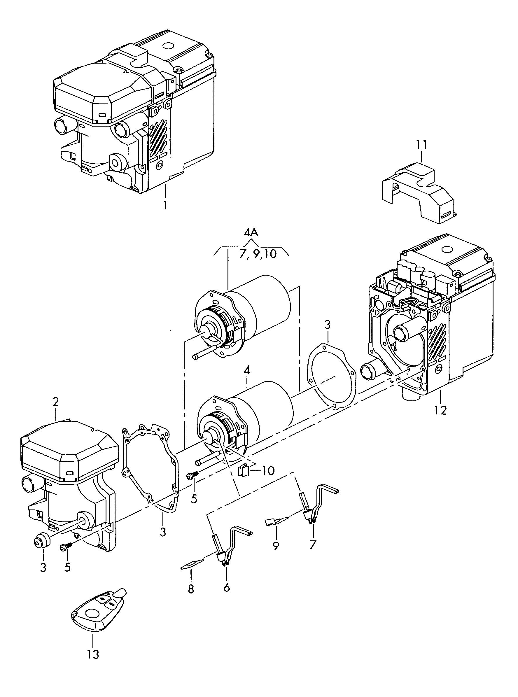 Audi Q7 2007 2009 Auxiliary Heater For Coolant Circuit Wiring Diagram Vag Etka