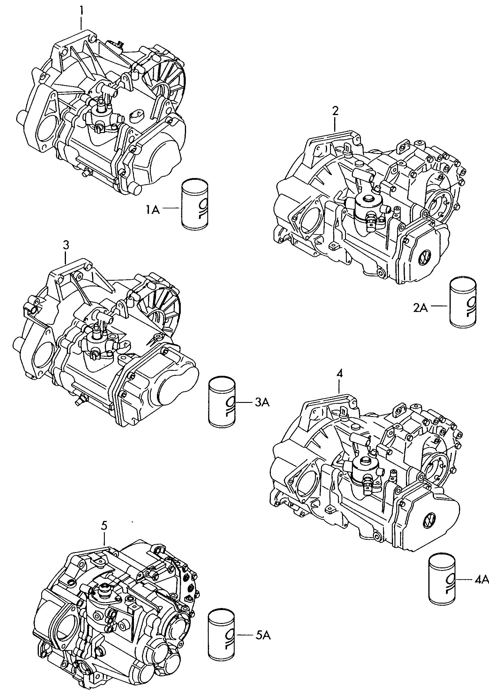 Skoda Octavia (2013 - 2017) - gearbox, complete  for 6 speed
