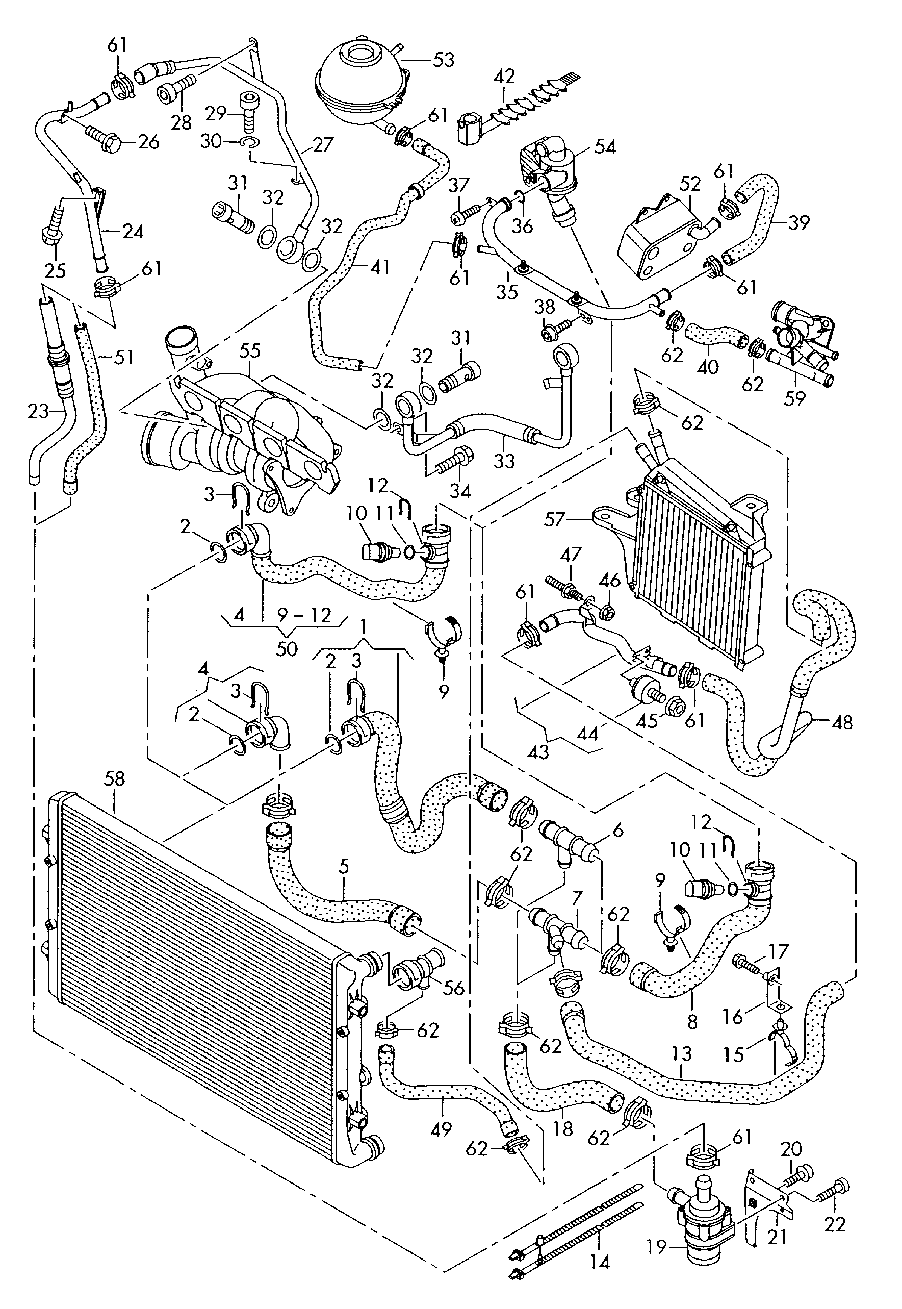 2001 Vw Jetta Coolant System Diagram