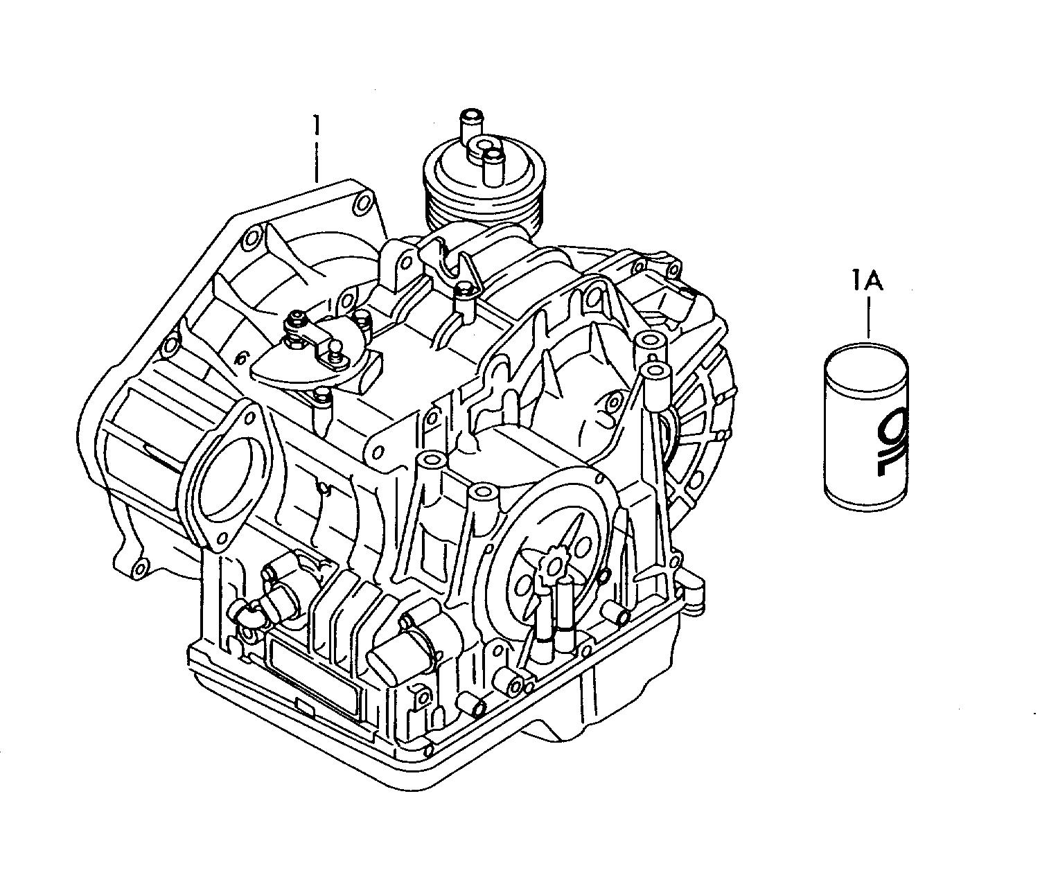 Volkswagen Jetta (2015 - 2017) - 6-speed automatic gearbox