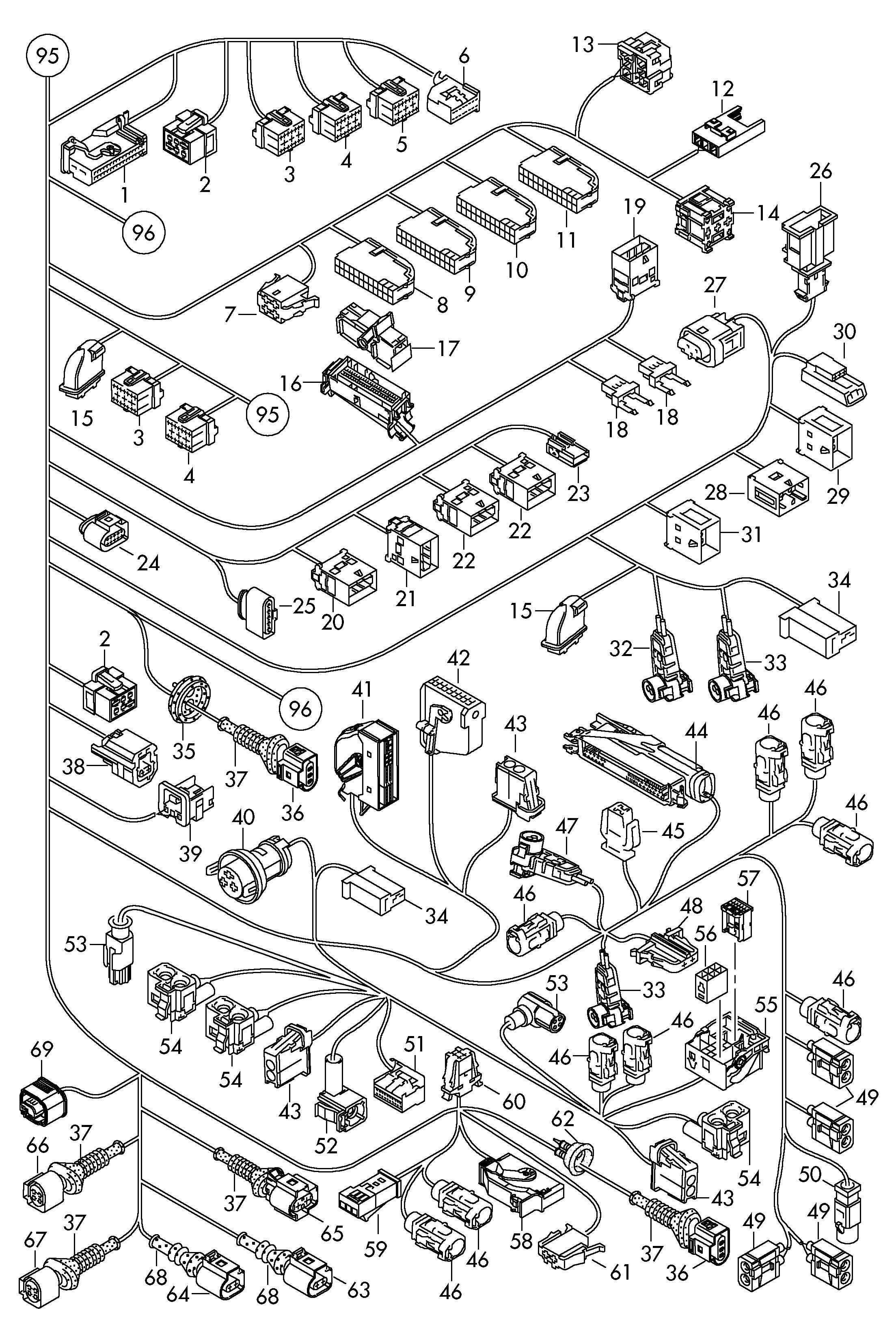 Audi Q5 (2010 - 2017) / VAG Etka
