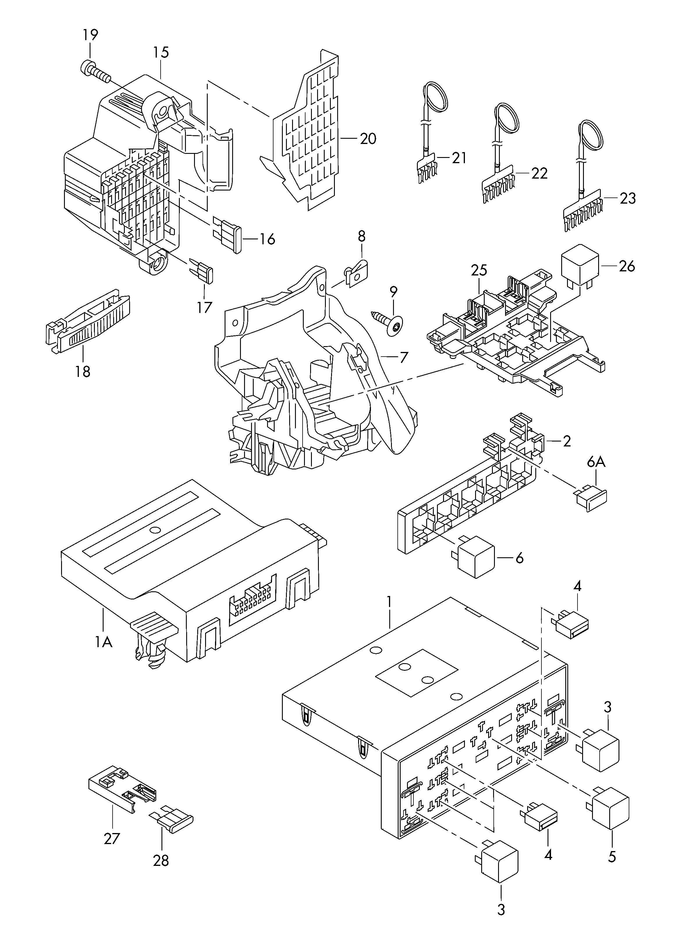 Volkswagen Passat/Variant (2006 - 2007) / VAG Etka