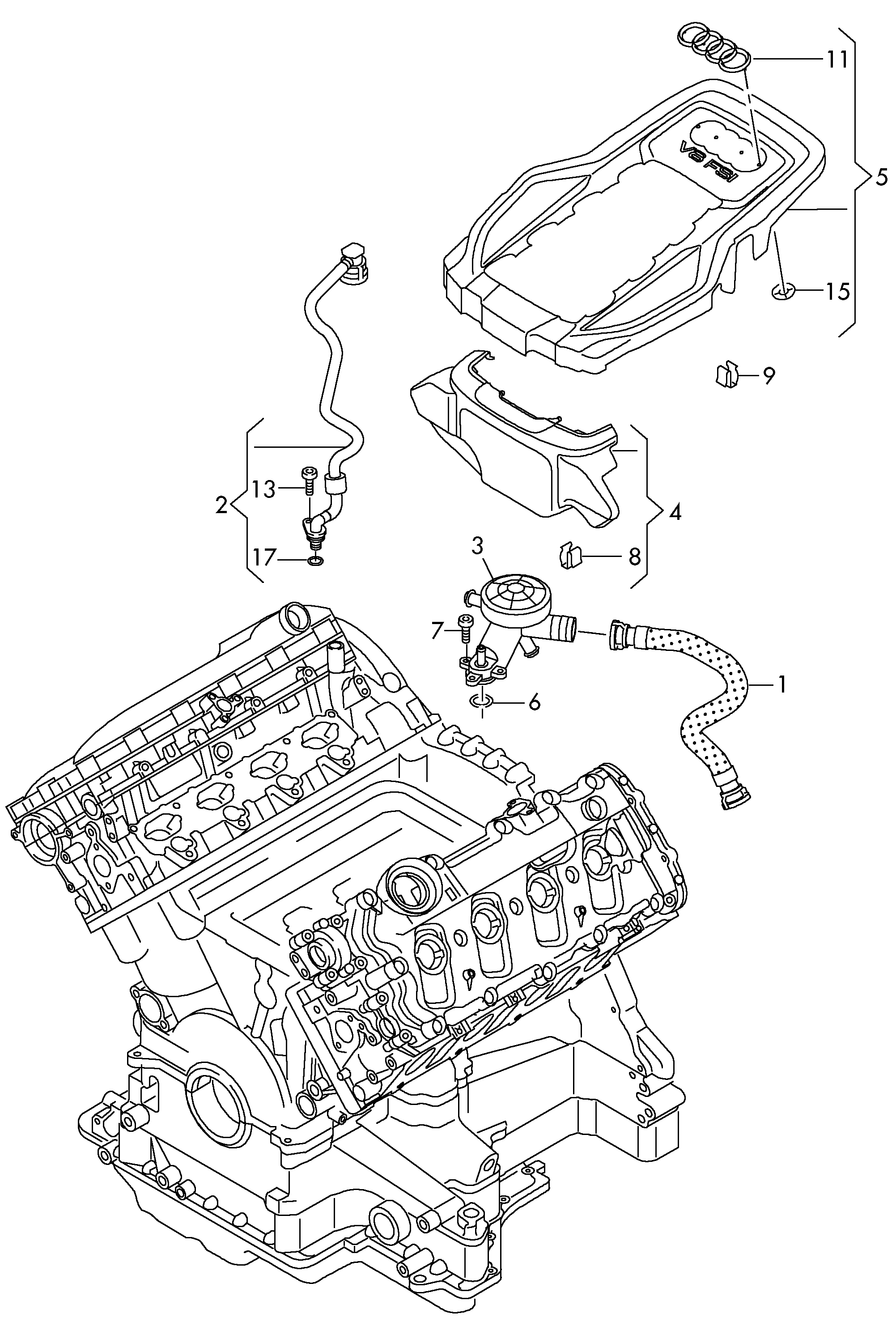 Audi A8 (2010 - 2013) / VAG Etka