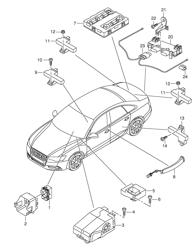 Audi A6  Avant  2011 - 2014