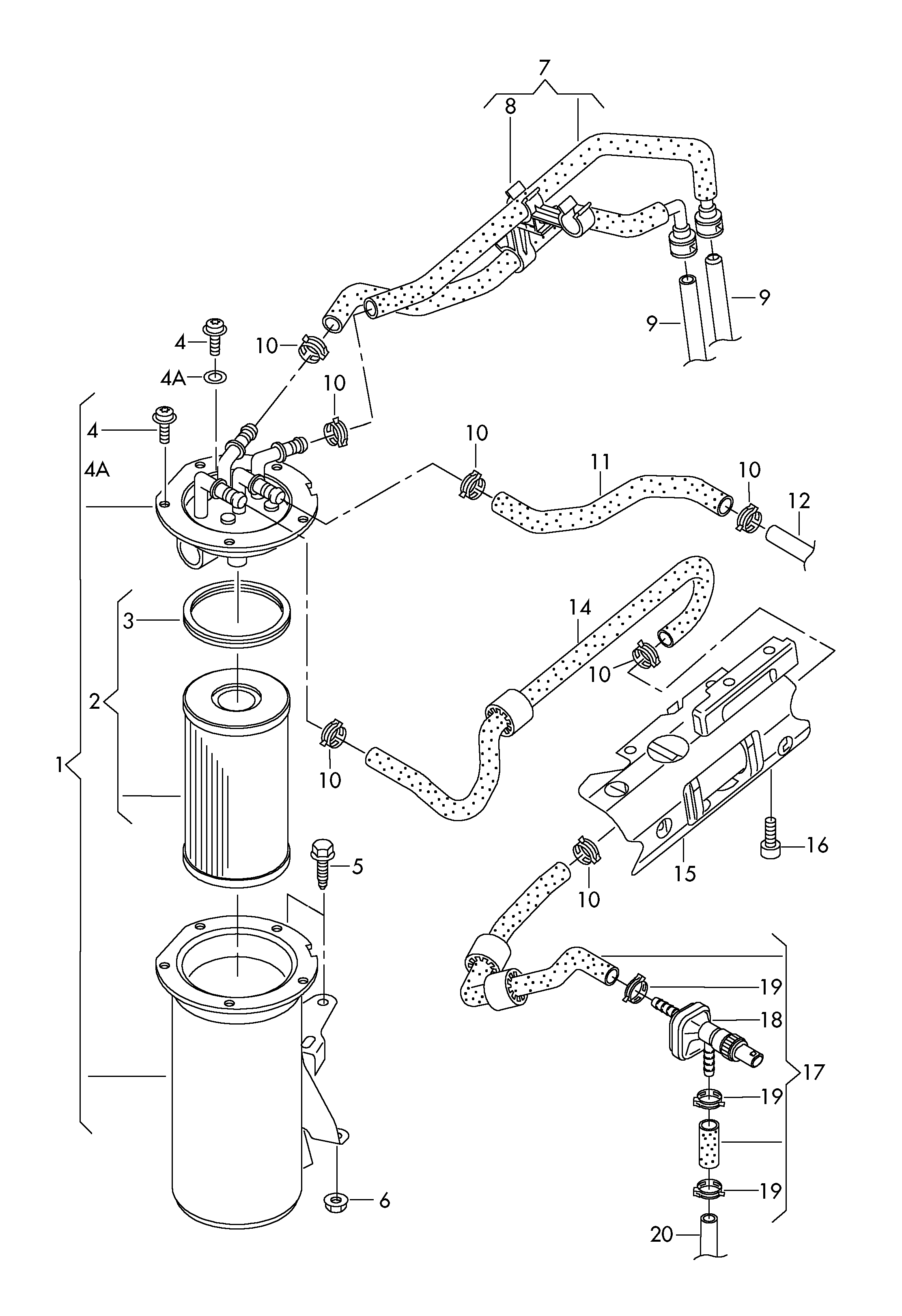 Volkswagen Jetta (2011 - 2014) / VAG Etka