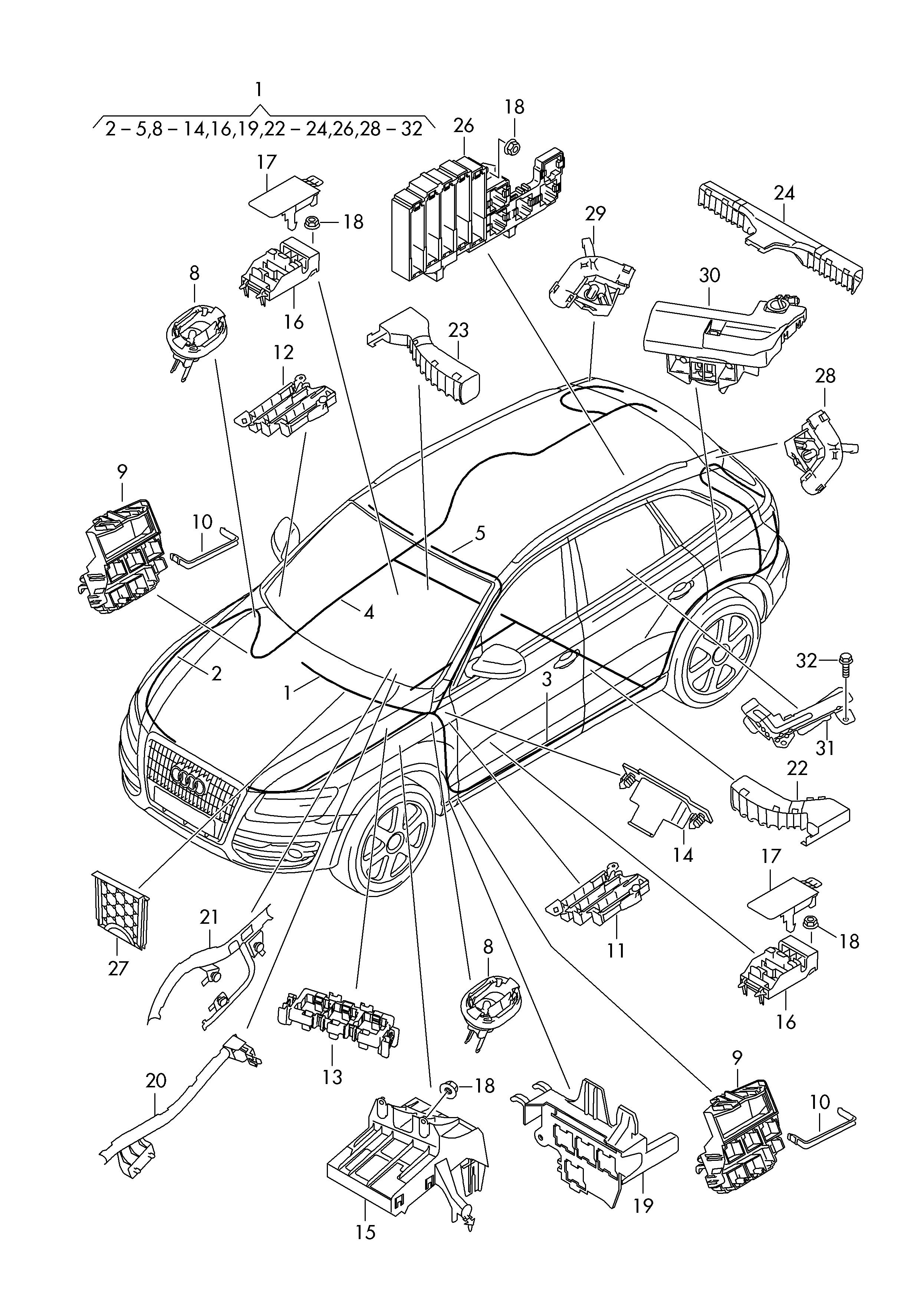 Audi Q5  2013 - 2017