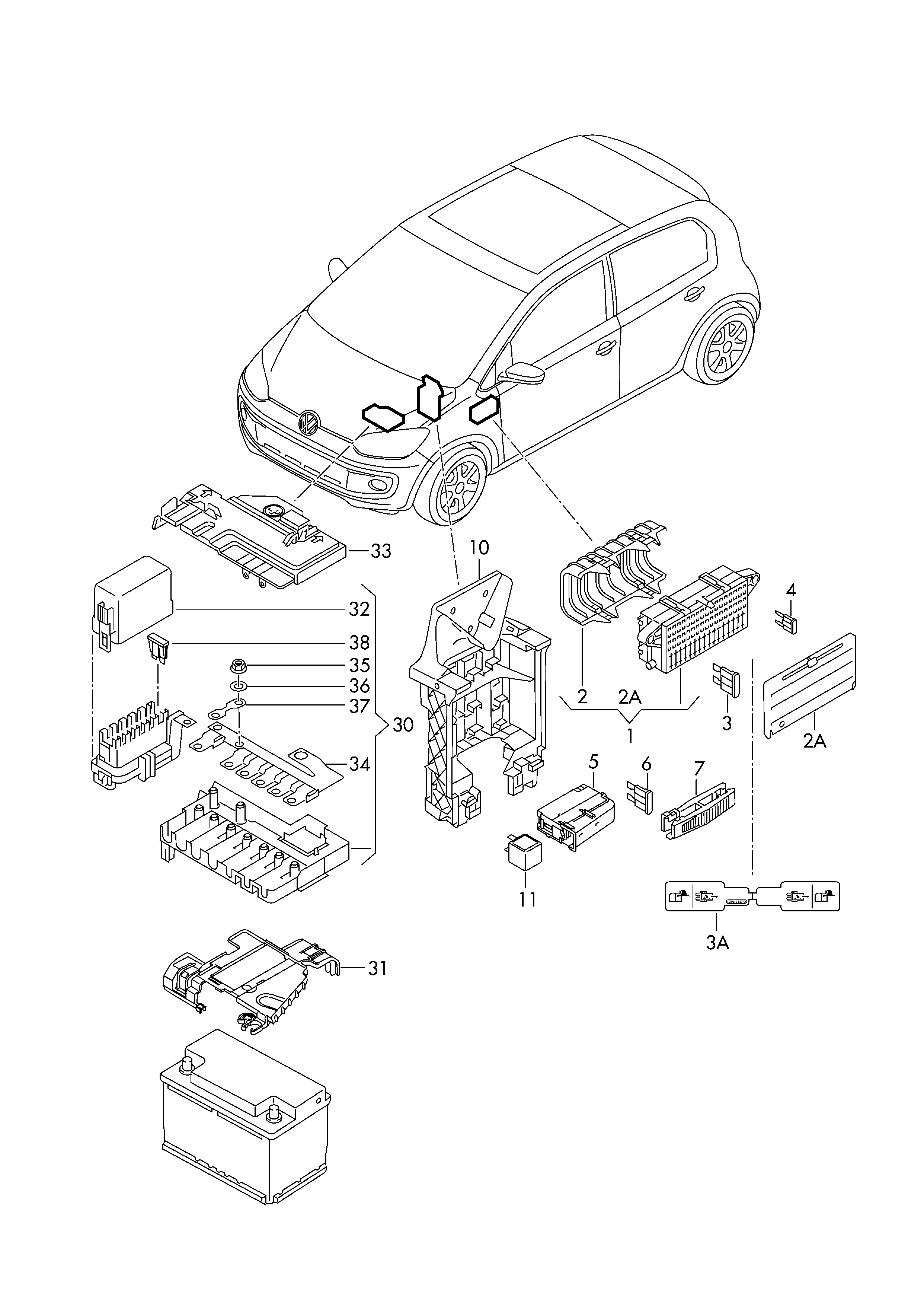 volkswagen up   2014 - 2017