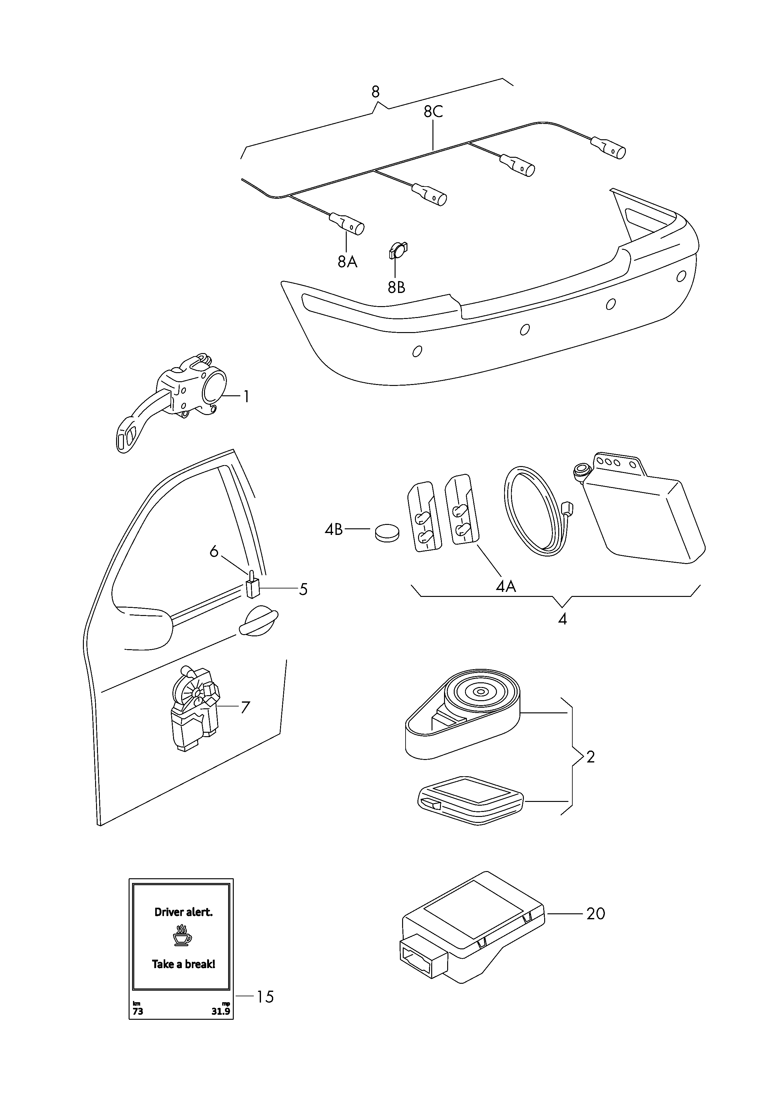 Skoda Cruise Control Diagram