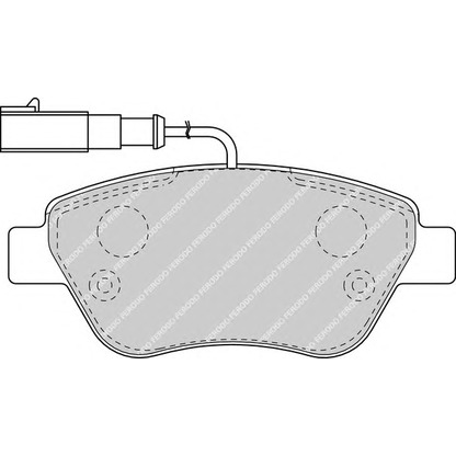 Ferodo Fiat Panda 1.2 Front Brake Discs And Pads Set Fit Bosch Braking System